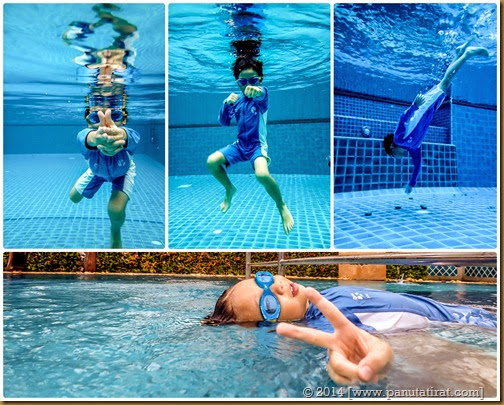 Page Matt underwater