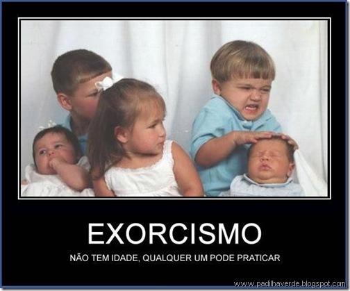face imagem exorcismo
