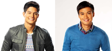 Daniel Matsunaga and Edgar Allan Guzman