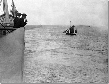 Titanic Dropping the Pilot at Portsmouth