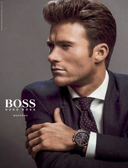 Scott Eastwood - Hugo Boss Watches