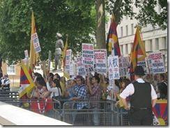 Wen Jiabao Tibet Protest