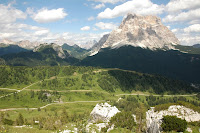 Last week of mountain holidays we spend together with Łysy and Przesmyk hiking in Dolomites.