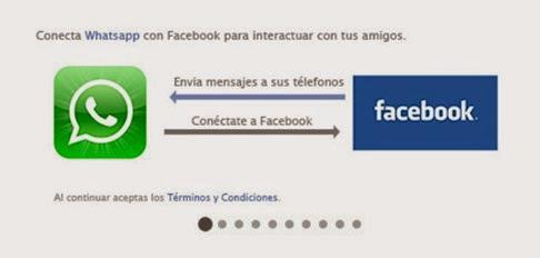 Cuidado con las invitaciones de Facebook para usar WhatsApp online