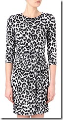 Michael Michael Kors Cheetah Print Jersey Dress