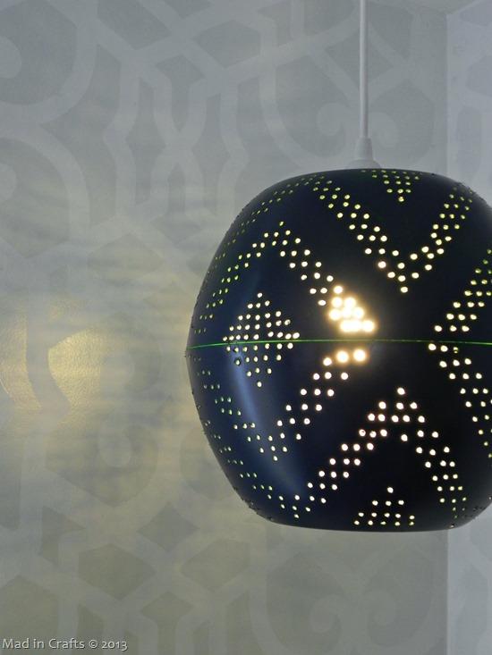 West Elm Inspired Pendant Lamp