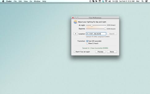 F.lux para Windows, Linux y Mac
