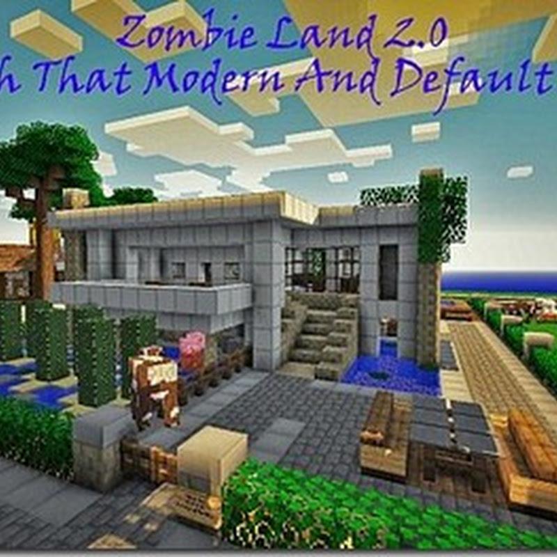 Minecraft 1.4.7 - Zombie Land 2.0 Texture pack 16x