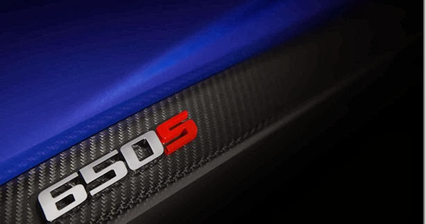 "McLaren ""650S"" tem teaser divulgado"