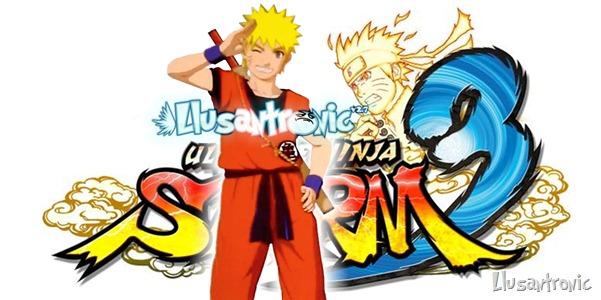 Naruto usará el traje de Gokú para el juego de Naruto Shippuden Ultimate Storm 3