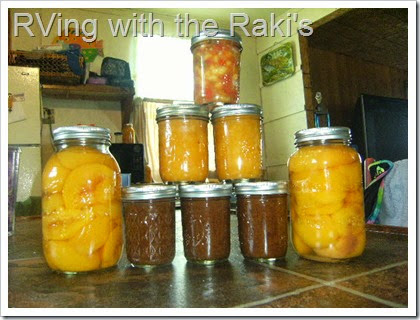 Picking and preserving fruit is the best way to continue to eat locally in the winter.