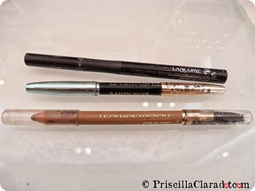Priscilla Makeup Contest Lancome Alber Elbaz eyeliner eyebrow pencil