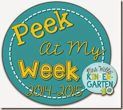 peek at my week button