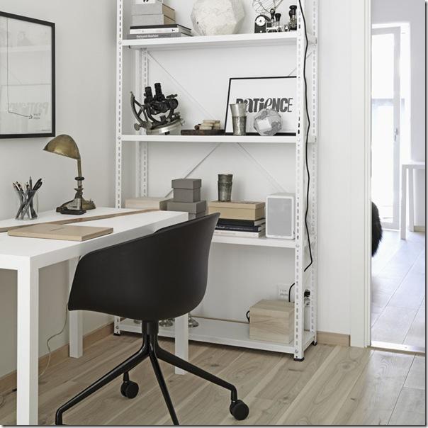 case e interni - stile minimal contemporaneo - grigio - legno decapato (7)