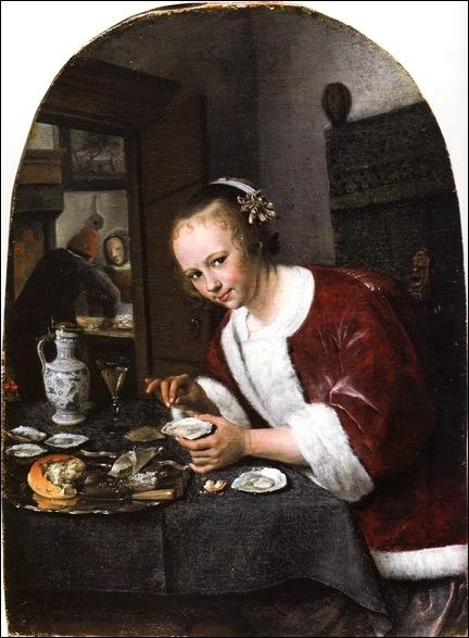steen, La mangeuse d'huîtres