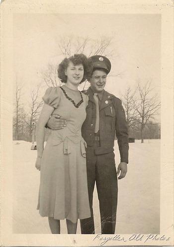 Serviceman  WW2 Army or Army Air Corps  Duluth