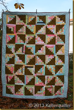 Quilt100-Country Logcabin