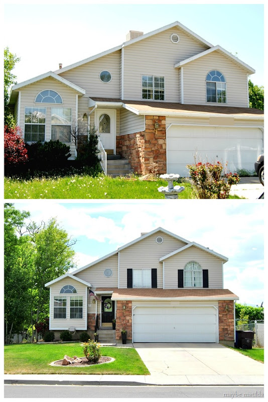 Adding major curb appeal with just a few simple changes!
