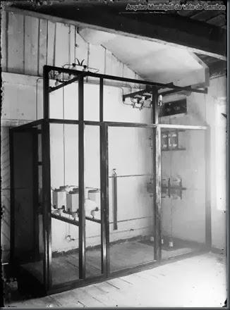 Quadro eléctrico da fábrica.2