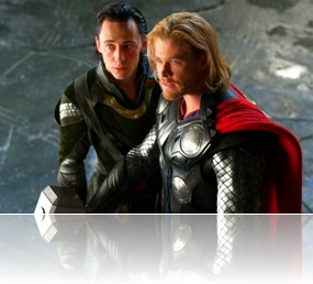 Thor and Loki