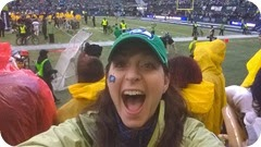 Lisa Harper ---They WON at the NFC Championship game  (18 Jan 2015)