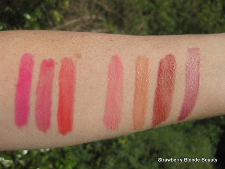 Summer-2013-Lipgloss-Swatches
