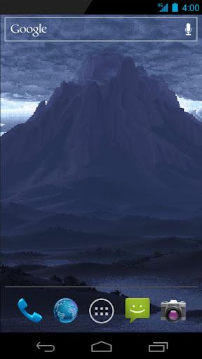 Live Wallpaper - MountainStorm