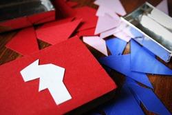 NACHGEMACHT - Spielekopien aus der DDR: Tangram