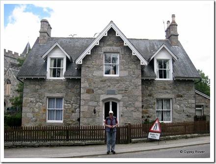 The house where Robert Louis Stevenson wrote Treasure Island in 1881.