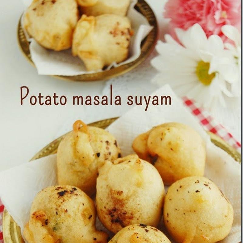 Potato masala suyam / suzhiyam/ seeyam