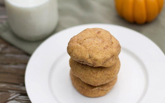 Pumpkin Snickerdoodles with Cream Cheese Filling (1)