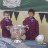 Some of our under 8's with the cup