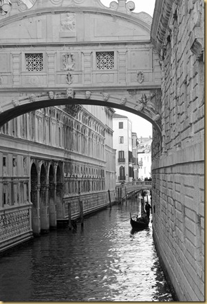 Bridge of Sighs and Gondola