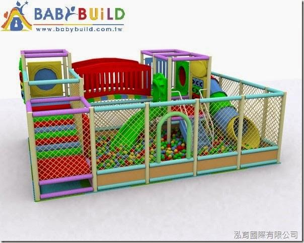 BabyBuild 室內兒童遊樂場3D泡棉鋼管設計規劃