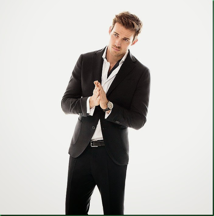 Andrew Cooper dons spring suits for Massimo Dutti-