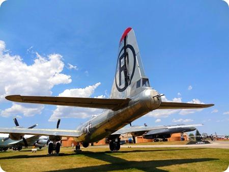 Back of B-29
