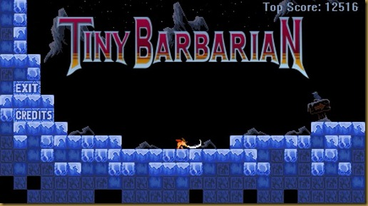 Tiny Barbarianタイトル