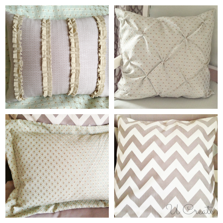 Throw Pillows and Shams by U Create