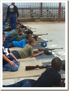rifle comp with boys
