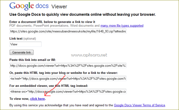 คลาย zip ไฟล์และ Rar ด้วย  Google doc
