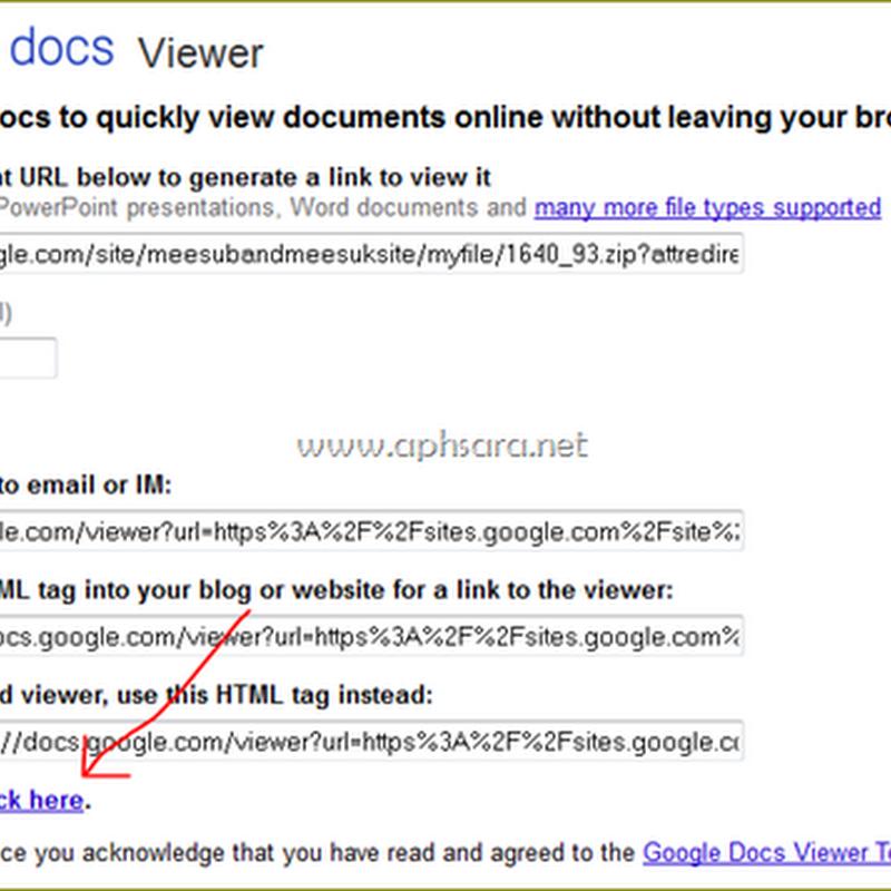 คลายไฟล์ zip และ Rar ด้วย Google doc