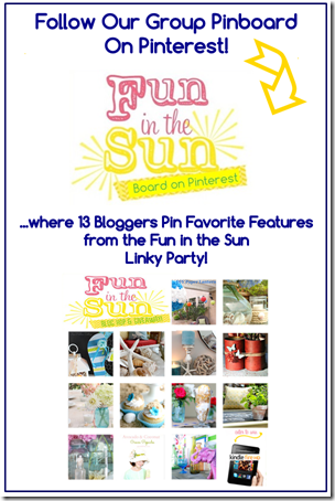 Fun in the Sun Pinboard graphic