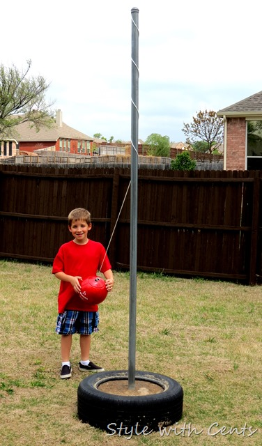 how to make a tetherball style with cents 2