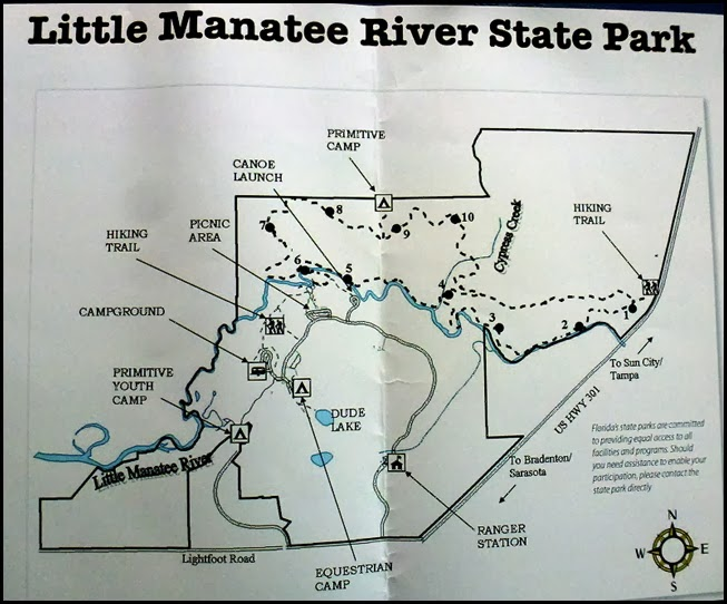 06 - Little Manatee River SP MAP