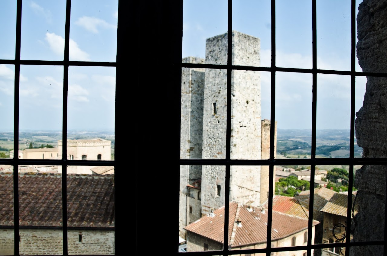 View from San Gimignano Towers