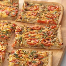 Caramelized Onion & White Bean Flatbread