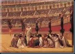 A renúncia dos matires cristãos