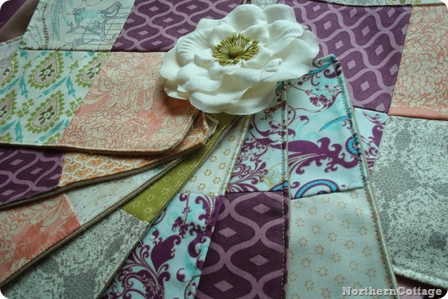 Lovely Handmade Dinner Napkins {NorthernCottage}