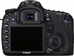 Canon EOS 7D verso
