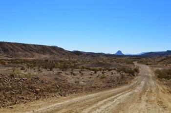 Old Maverick Road to Santa Elena Canyon